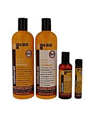 Chia Seed Oil Shampoo Pack