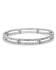 Jon Richard Pave crystal link bracelet