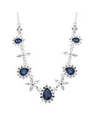 Jon Richard crystal statement necklace