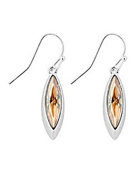 Jon Richard Sphinx eye drop earrings