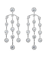 Jon Richard circle chandelier earring