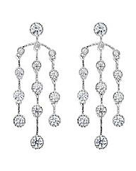 Jon Richard circle chandelier earring