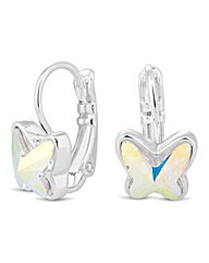 Jon Richard crystal butterfly earring