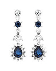 Jon Richard Kate blue crystal earring