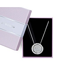 Jon Richard Crystal disc necklace