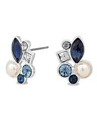 Alan Hannah pearl cluster stud earring