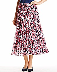 Nightingales Sunray Pleat skirt