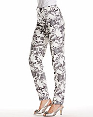 Nightingales Printed Trouser