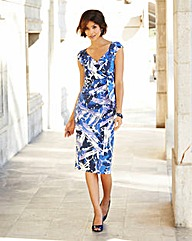Nightingales Printed Dress