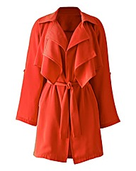 Nightingales Soft Trench Style Jacket