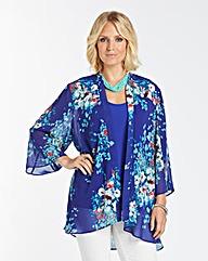 Nightingales Chiffon Kimono and Camisole