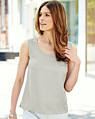 Nightingales Stretch Satin Camisole