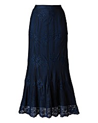 Nightingales Lace Skirt Length 32in