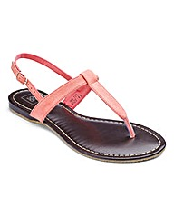 Sole Diva Plain Toepost EEE Fit