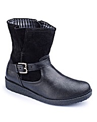 Heavenly Soles Ankle Boot E Fit