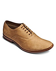 Hamnett Gold Lace Up Oxford Shoes S