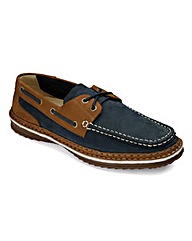Lace Up Boat Shoes By Air Cool Standard