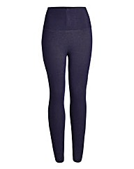 Regular High Waist Denim Leggings