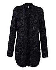 Lurex Fluffy Cardigan