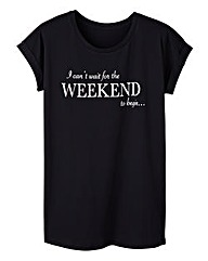 Weekend Logo Boyfriend T-Shirt
