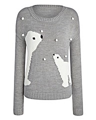 Christmas Bears Snowball Jumper