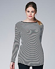Striped Rib Jumper