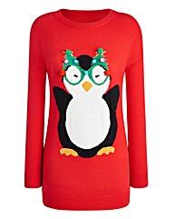 Christmas Penguin Jumper