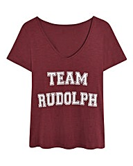 Christmas Team Rudolph Tee