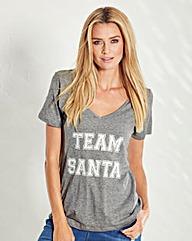Christmas Team Santa Tee