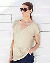 Linen-Mix Jumper
