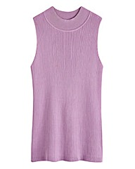 Sleeveless Rib Top