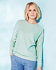 Jumper with Zip Back Detail