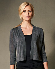 Metallic Shrug