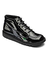 Kickers Kick Hi Patent Boots