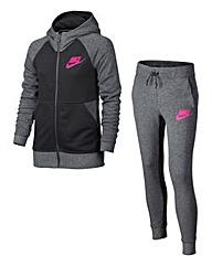 Nike Girls Sportswear Warm Up Tracksuit