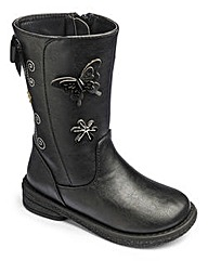 TKD Butterfly Girls Boots Std Fitting