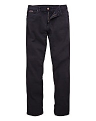 Wrangler Texas Stretch Black 30 In Leg