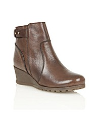 Lotus Shard Ankle Boots