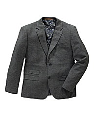 Black Label By Jacamo Tweed Blazer L