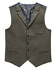 Black Label By Jacamo Pocket Waistcoat S