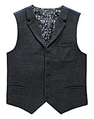 Black Label By Jacamo Pocket Waistcoat R