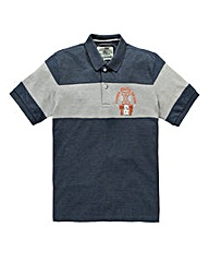 Jacamo Hardy Short-Sleeve Polo Long