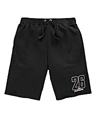 26 Million Blake Black Jog Short
