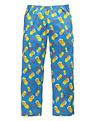 Simpsons Doh Blue Loungepant