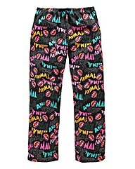 The Muppets Animal Black Loungepant
