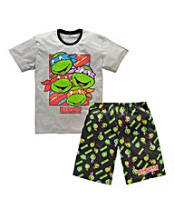 Teenage Ninja Turtles Multi Short Pj Set
