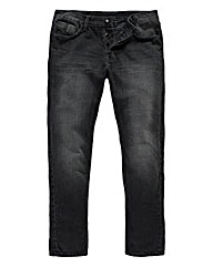 Label J Massey Grey Jean 33in Leg
