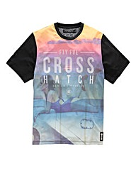 Crosshatch Chasedown Girl Black T-Shirt