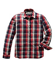 Jacamo Colton L/S Check Shirt Regular