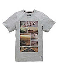 Jacamo Bucoda Graphic T-Shirt Long